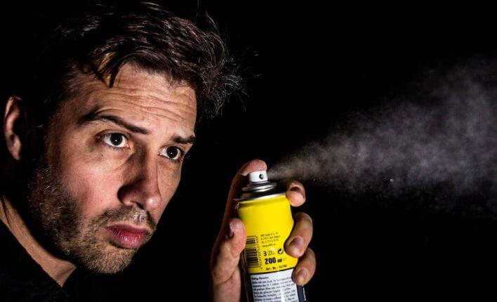 Flohspray gegen Ungeziefer