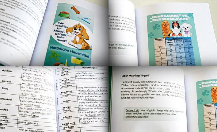 Einblicke in das Buch Hunde Gesundheits Bibel